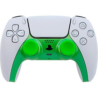 Dual sense controller styling kit (includes faceplate & thumb grips) - green (ps5)