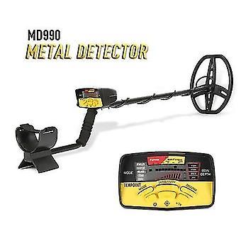 MD990 Portable Easy Installation Underground Metal Detector High Sensitivity Jewelry Treasure