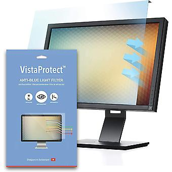 - Premium Anti Blue Light Filter & Protector for Monitor and PC Computer Screens, Easy On/Off