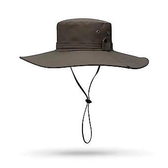 Sommerreisende im Freien zu Fuß Fischerhut für Mann Wide Brim Hut