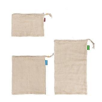 Reusable Cotton Mesh Bag For Vegetables
