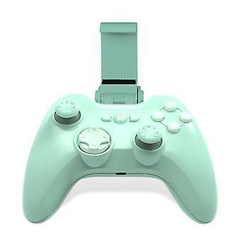 Controlador de Jogos Móveis Sem Fio para iPhone iOS, iPad, iPod, Apple TV, MFi Certified Gamepad com montagem do iPhone para Apple Arcade Games (verde)