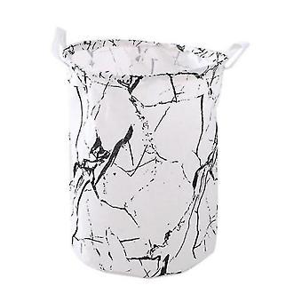 Cartoon Storage Box Dirty Clothes Basket Storage Bucket, Foldable Waterproof Bucket With