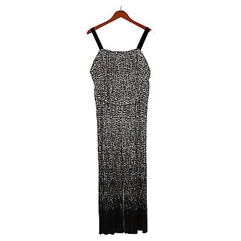 Susan Graver Jumpsuits Regular Pleated Knit Black A377221