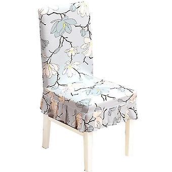 4pcs Spandex كرسي تغطية زهرة نمط قابل للإزالة تمتد غرفة الطعام مأدبة كرسي يغطي الصفحة الرئيسية