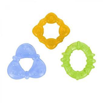 Set Of 3 Chilled Teething Rings