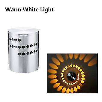 Led wandlamp 3w rgb draadloze aplique de aluminio creativo wandlampen voor thuis trap badkamer