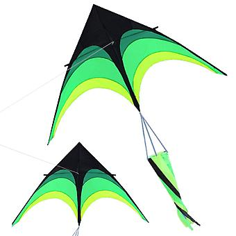 Large Delta Long Tail Kite Outdoor Fun Kids And Adults 1.6m Super huge Easy Kite
