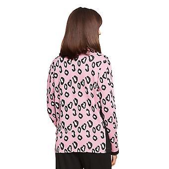 Féraud Casual Chic 3211057-15648 Women's Modern Leo Loungewear Jacket