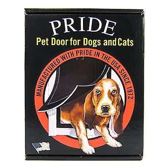 """Pride Pet Doors Deluxe Pet Door - Large (11.5"""" Wide x 16.9"""" High Opening)"""