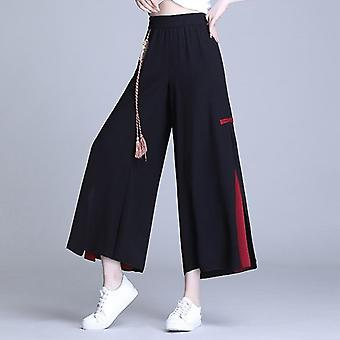 Chiffon Chinese Style Casual Hose, Damen Kung Fu Hose