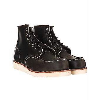 """Red Wing 8890 Heritage Work 6"""" Moc Toe Boot - Charcoal Rough & Tough"""