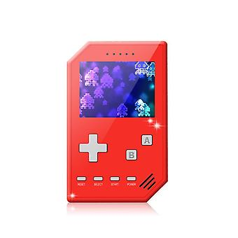 Home game console accessories retro handheld games console for kids adults 3 inch screen video games with av cable play on tv-red