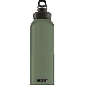 Sigg WMB Traveller Leaf Green 1.5L Lightweight Aluminium Drinking Bottle 8776.6