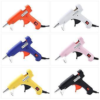 Hot lijm pistool sol pistool hot melt pistool 20w elektrische warmte pistool hot melt lijm pistool diy sieraden accessoires +