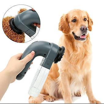 Electric Pet Hair Sucker Pet Massage Vacuum Cleaner Fur Clean Comb
