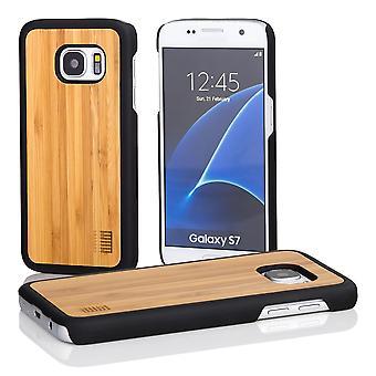 32 madera nuevo caso para Samsung Galaxy S7 (SM-G930) - bambú