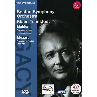 Mahler/Mozart - Legacy: Tennstedt Boston Symphony Orchestra [DVD] USA import