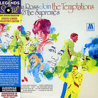 Diana Ross & the Supremes - Join the Temptations [CD] USA import
