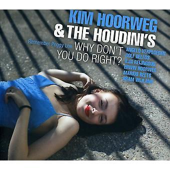 Kim Hoorweg - Why Don't You Do Right? [CD] USA import