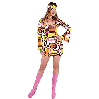 Vrouwen kostuums vrouwen Retro mini jurk