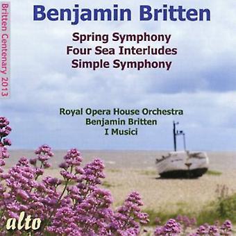 Royal Opera House Orchestra / I Musici/B - Symphonie du printemps de Britten / import USA quatre mer Inte [CD]