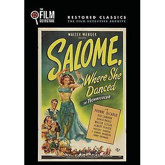 Salome Where She Danced [DVD] USA import