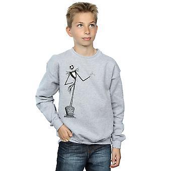 Disney Boys Nightmare Before Christmas Jack Pose Sweatshirt