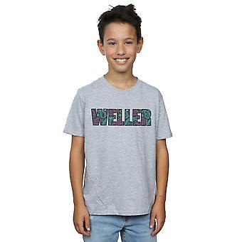 Paul Weller Boys Paisley Logo 1 T-Shirt