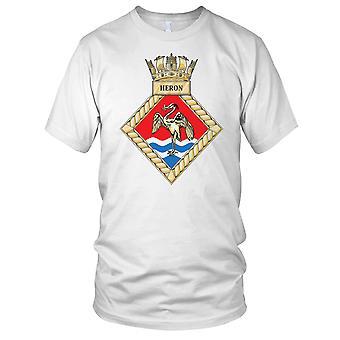 Royal Navy HMS Heron Kids T Shirt