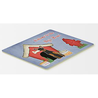 Dog House Collection Manchester Terrier Kitchen or Bath Mat 20x30