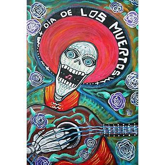 День мертвых D & iacutea де-Лос-Muertos Плакат Плакат Печать