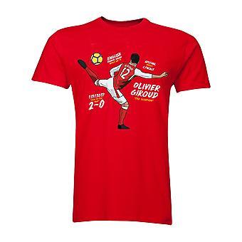 Olivier Giroud a t-shirt do escorpião (vermelho)