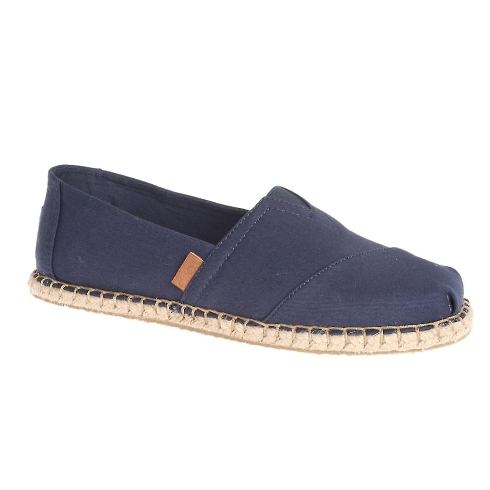 Toms Classic Canvas Blanket Stitch Loafers