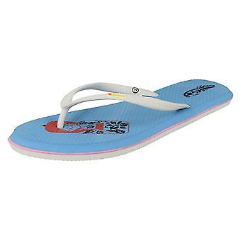 Ladies Samoa Slip On Casual Sandals