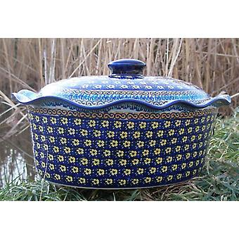 Casserole oval with cover, height 16 cm, Ø 34 x 26 cm, signature 7, BSN m-1991