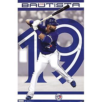 Toronto Blue Jays - Jose Bautista 2012 Poster Print