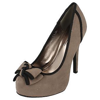 Anne Michelle L2237 doamnelor Heeled Curtea pantof