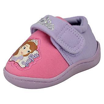 Fete Disney papuci Sofia Crown Side