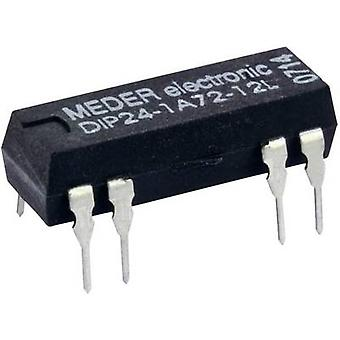 StandexMeder Electronics DIP12-1A72-12D Reed relay 1 maker 12 V DC 1 A 10 W DIP 8