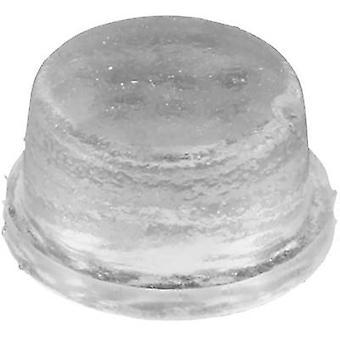 Picior anti-alunecare, autoadezive, circular negru (Ø x H) 12,7 mm x 6,4 mm 1 buc (e)