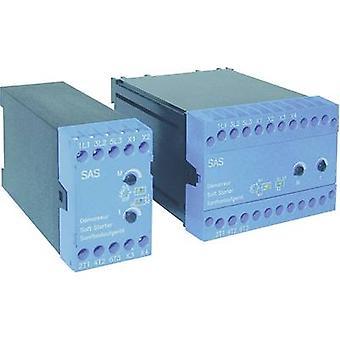 ソフト スターター ピーター電子 SAS 7, 5 モーター電源 400 V 7.5 kW のモータ電源は 230 V の 4 kW 400 V AC 定格電流 16 A