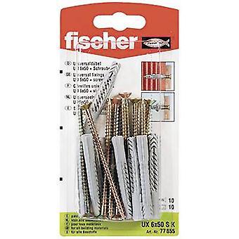 Fischer UX 6 x 50 SK Universal dowel 50 mm 6 mm 77855 10 pc(s)