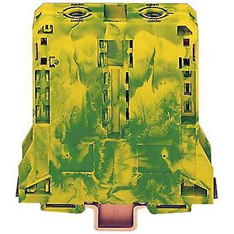 WAGO 285-197 PG-terminal 25 mm Trekkfjærkonfigurasjon: Terre Grønn, Gul 1 stk.(s)