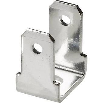 Vogt Verbindungstechnik 381790.67 Klinge Connector Stecker Breite: 4,8 mm Stecker Stärke: 0,8 mm 90 °, 90 ° nicht isoliert Metall 1 PC