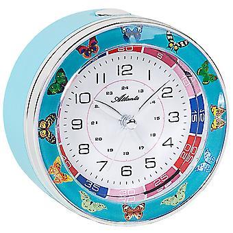 Atlanta 1982/5 alarm clock for children children alarm clock butterflies quiet