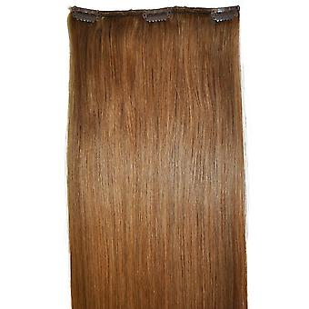 #12 Light Chestnut Brown - Clip-in Hair Piece