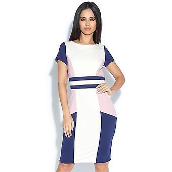 Färg Block klänning