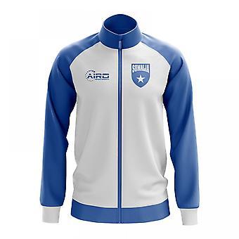 Somalian käsite jalkapallo Track Jacket (valkoinen)
