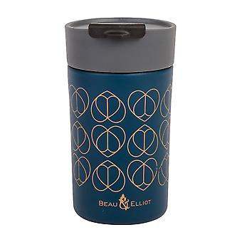 Beau and Elliot Travel Mug, Teal
